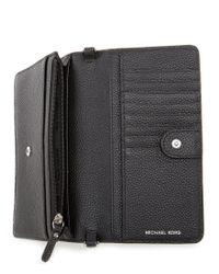 MICHAEL Michael Kors - Black Phone Cross-body Bag - Lyst