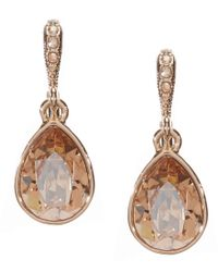 Givenchy - Metallic Golden Shadow Drop Earrings - Lyst