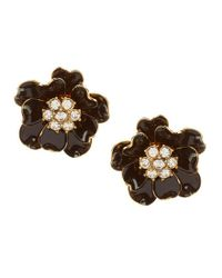 Kate Spade | Multicolor Precious Poppies Stud Earrings | Lyst