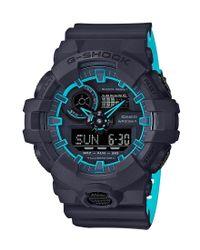 G-Shock - Blue Ana/digi Side Edge Watch for Men - Lyst