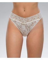 Hanky Panky | White Signature Lace Original Rise Thong | Lyst