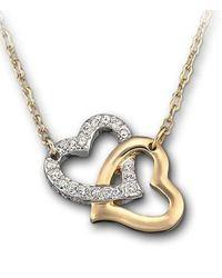 Swarovski | Metallic Match Pendant Necklace | Lyst