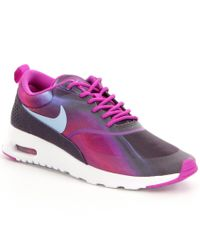 Nike | Purple Women's Air Max Thea Running Shoes | Lyst