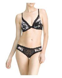 Natori - Black 'bliss' Bikini - Lyst