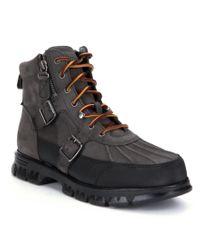 Polo Ralph Lauren | Gray Demond Boots for Men | Lyst