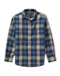 Woolrich | Blue Shirt for Men | Lyst