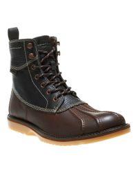 Wolverine - Black Felix Men´s Waterproof Leather Lace-up Duck Toe Boots for Men - Lyst