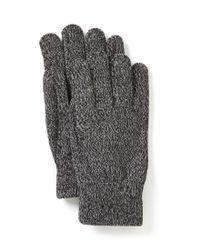 Smartwool | Black Cozy Knit Tech Gloves | Lyst