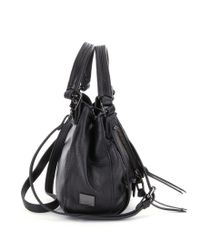 Kooba - Black Leather Ruched Trim Savanah Hobo Bag - Lyst