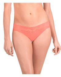 Natori | Pink Bliss Perfection V-kini Panty | Lyst