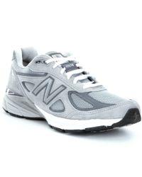 New Balance | Gray Men ́s 990 V4 Running Shoes for Men | Lyst
