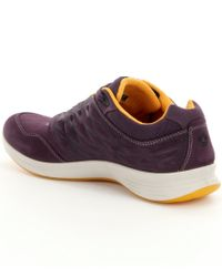Ecco - Blue Exceed Low Sneakers - Lyst