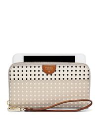Fossil | Gray Gifting Zip Clutch Wallet | Lyst