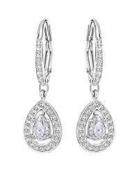 Swarovski | Metallic Attract Light Drop Earrings | Lyst
