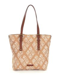 Lucky Brand | Brown Ashmore Small Canvas Hobo Bag | Lyst
