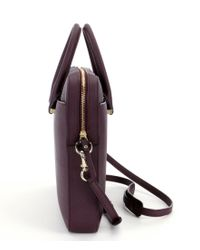 kate spade new york Purple Leather Laptop Bag