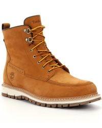 Timberland | Brown Britton Hill Men ́s Waterproof Boots for Men | Lyst