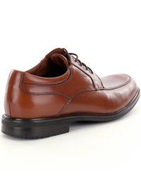 Rockport - Brown Men ́s Essential Details Ii Waterproof Apron-toe Dress Shoes for Men - Lyst