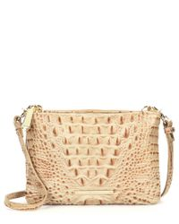 Brahmin | Multicolor Melbourne Collection Perri Croco-embossed Cross-body Bag | Lyst