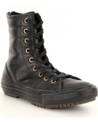 Converse | Black Women ́s Chuck Taylor® All Star® Hi Rise Boots | Lyst