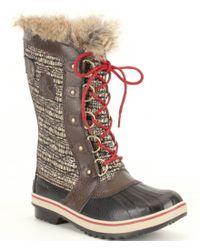 Sorel | Multicolor ® Tofino Ii Faux Fur Waterproof Boots | Lyst