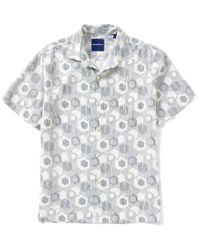 Tommy Bahama   Multicolor Big & Tall Tiles Davis Printed Silk Shirt for Men   Lyst