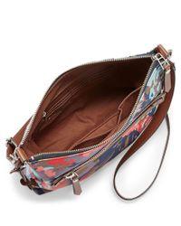 Fossil - Multicolor Dawson Floral Cross-body Bag - Lyst