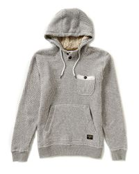 Billabong | Gray Rasta Yarn-dyed French Terry Pullover Hoodie for Men | Lyst