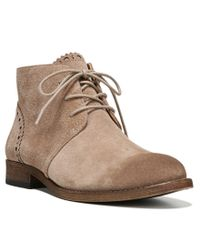 Franco Sarto | Natural 'heathrow' Lace Up Bootie for Men | Lyst