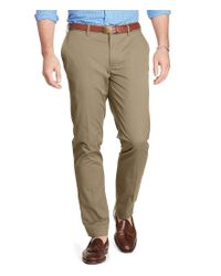 Polo Ralph Lauren | Natural Big & Tall Stretch Classic-fit Twill Pants for Men | Lyst