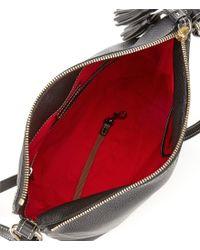 Dooney & Bourke - Black Pebble Collection Small Dixon Hobo Bag - Lyst