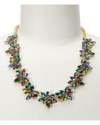 Cezanne | Metallic Starburst Statement Necklace | Lyst