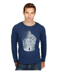 Lucky Brand | Blue Whiskey Cure Graphic Long-sleeve Thermal for Men | Lyst