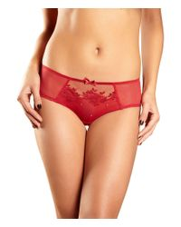 Chantelle   Red Intuition Hipster Panty   Lyst