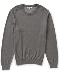 Cutter & Buck | Gray Broadview Crewneck Sweater for Men | Lyst