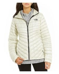 The North Face | Gray Thermoball Full-zip Water-repellent Quilted Packable Jacket | Lyst