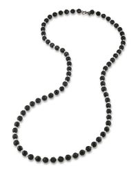 Carolee | Metallic Soho House Pearl Rope Necklace | Lyst