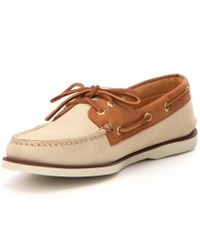Sperry Top-Sider - Brown Men ́s Gold Authentic Original 2-eye Boat Shoe for Men - Lyst