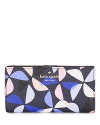 kate spade new york | Blue Hawthorne Lane Collection Stacy Spinner Continental Wallet | Lyst