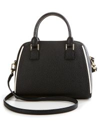 kate spade new york | Black Prospect Place Collection Small Pippa Satchel | Lyst