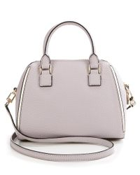 Kate Spade - Gray Prospect Place Collection Small Pippa Satchel - Lyst