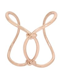 Kenneth Cole   Metallic Knotted Open Cuff Bracelet   Lyst