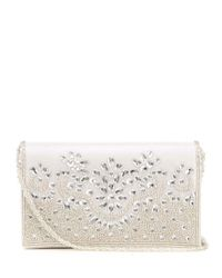 Adrianna Papell - Metallic Nyomi Beaded Clutch - Lyst