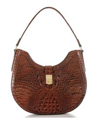 Brahmin | Brown Melbourne Collection Bethany Hobo Bag | Lyst