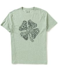 Lucky Brand | Green Lucky You Short-sleeve Shamrock Graphic Tee | Lyst