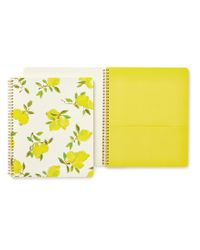 kate spade new york | Yellow Lemon Large Spiral Notebook | Lyst