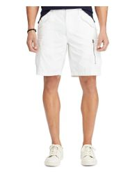 Polo Ralph Lauren | White Big & Tall Classic-fit Cotton Cargo Shorts for Men | Lyst