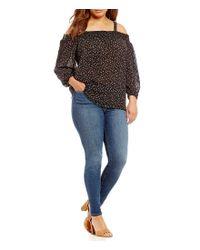 Silver Jeans Co. - Blue Plus Bleecker Straight Fit Leggings - Lyst