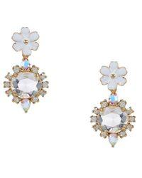 Kate Spade - Multicolor Garden Party Drop Earrings - Lyst