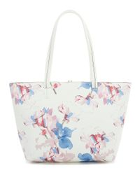 Vince Camuto - Multicolor Leila Floral Small Tote - Lyst